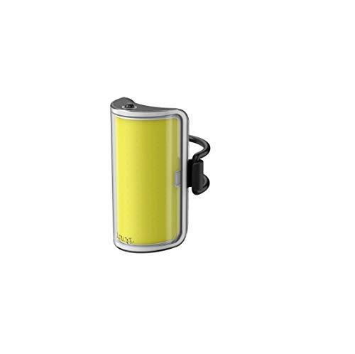 Knog Mid Cobber - Luz de bicicleta, Iluminación frontal, LED 320 lm, Amarillo/Negr