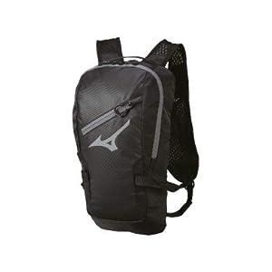 314JXLvYaDL. SL500 . SS300  - Mizuno Running, Mochila Unisex Adulto, Negro (Black), 9x42x20 centimeters (W x H x L)