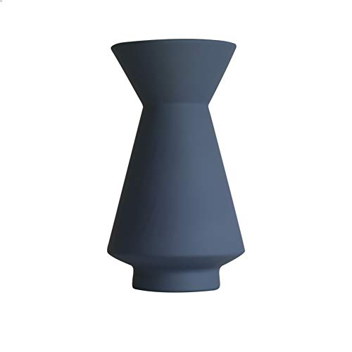 Yipianyun Keramikvase Moderne,Elegante Blumentöpfe Einfache Vase Dekoration kreative Wohnzimmer Keramik getrocknete Blumen Licht, Medium