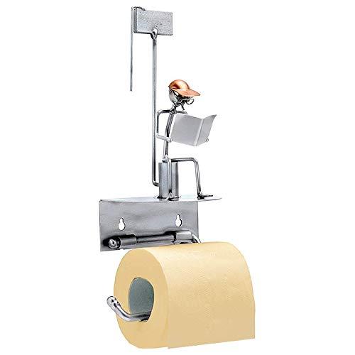 Boystoys HK Design - Toilettenpapierhalter Klomann Metall Art Klopapierhalter - Original Schraubenmännchen Wired Kollektion - handgefertigte Geschenkidee