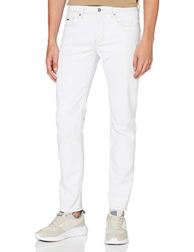 BOSS Herren Taber BC-C Tapered Fit Jeans, Weiß (Natural 105), W34/L34 (Herstellergröße: 3434)
