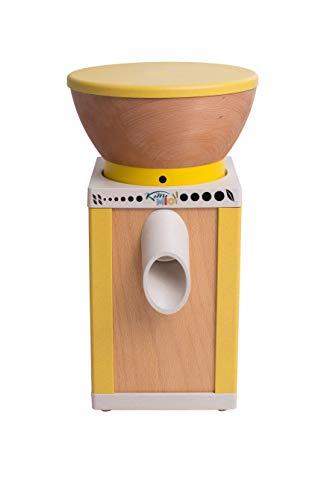KoMo KoMoMio Getreidemühle gelb (400 Watt, innovative Materialien)