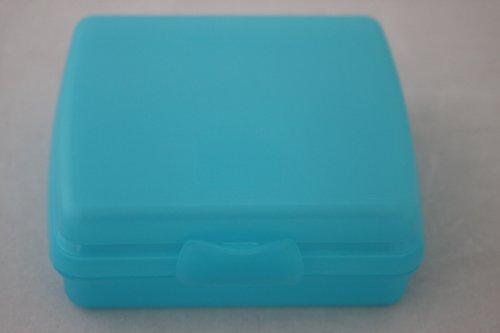 Tupperware Mini-Twin Brotdose Twin Brotbox türkis aqua Brotbox