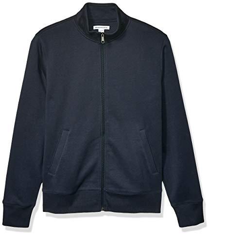 Amazon Essentials Full-Zip Fleece Mock Neck Sweatshirt Fashion-Sweatshirts, Dainty, US S (EU S)