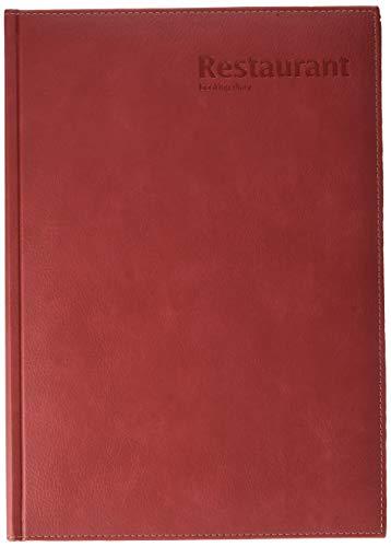 Castelli U07/24391 diario de reservas de restaurantes A4, color rojo