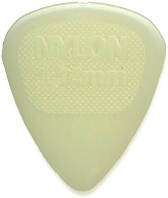 Dunlop 446R.67 Nylon Glow Standard, .67mm, 72/Bag