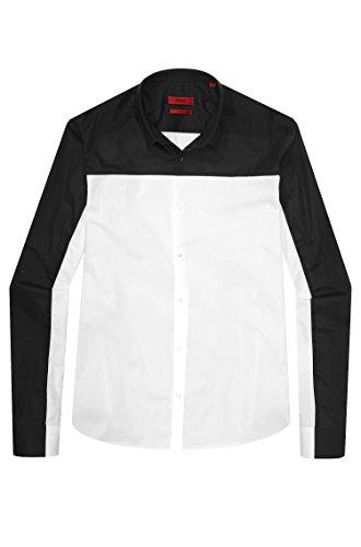 BOSS Hugo T-Shirt Erhart Couleur Blanc/Noir 199 - - L