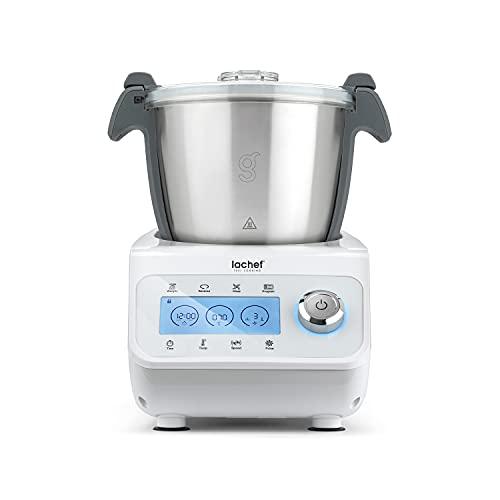 Robot cocina. Accesorios de cocina. Robot de cocina multifunción. Para cocinar como un auténtico profesional. Con el tamaño ideal para su cocina. Robots de cocina. Capacidad: 2,2 Litros. Cocinas.