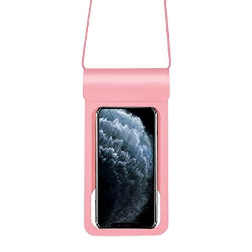 MARSPOWER Bolsa Impermeable para teléfono de 6.5 Pulgadas, Funda Impermeable para teléfono Celular Universal, Bolsa Seca bajo el Agua con cordón para Tomar Fotos