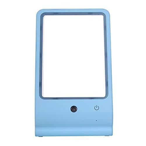 Miroir De Maquillage LED Beauté Hydratant Spray Matériel ABS,Blue,230 * 140 * 65Mm