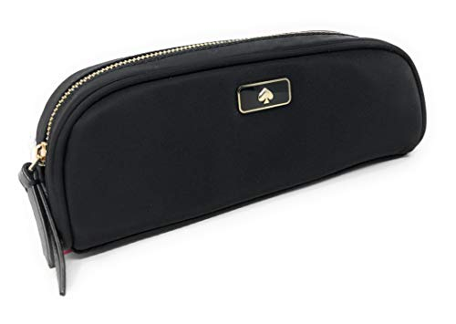 Kate Spade New York Pencil Travel Makeup Cosmetic Case (Black)