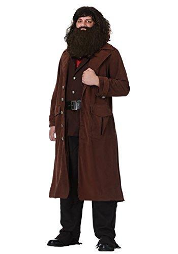 Charades Deluxe Hagrid Adult Costume Medium Brown