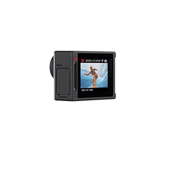 GoPro Hero 4 Silver Edition 12MP Waterproof Sports & Action Camera Bundle with 2 Batteries 8 Built-in touch display for easy camera control, shot-framing and playback,Protune with SuperView delivers cinema-quality capture and advanced manual control for photos and video with the world's most immersive wide-angle field of view Professional 1080p60 and 720p120 video with 12MP photos at up to 30 frames per second. Video Supported: 4K15 / 2.7K30 / 1440p48 / 1080p60 / 960p100 / 720p120 fps Built-in Wi-Fi and Bluetooth support the GoPro App, Smart Remote and more