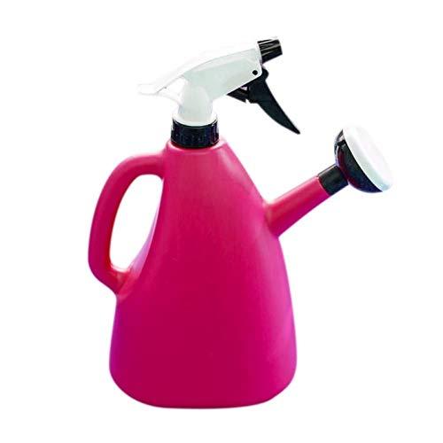 Praktische dubbele besproeiing Spuitpot 1L Handgeperst huishoudelijk tuinieren Gieters Verstelbare tuinbenodigdheden Spray d'alcool