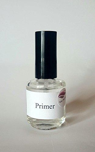 New Nail Art Primer 15 ml - Colle transparente pour déshydratation - Base coat - Similaire à déshydratateur - Accessoire pour ongles - Transparent