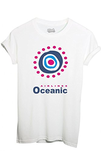 T-SHIRT OCEANIC AIRLINES LOST - MOVIE by MUSH Dress Your Style - Donna-XL