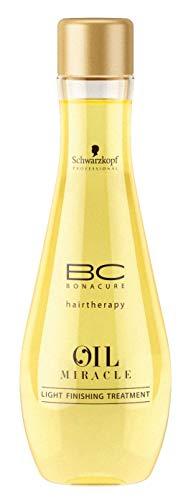 Schwarzkopf BC Bonacure Oil Miracle Light Finishing Treatment, 1er Pack, (1x 100 ml)