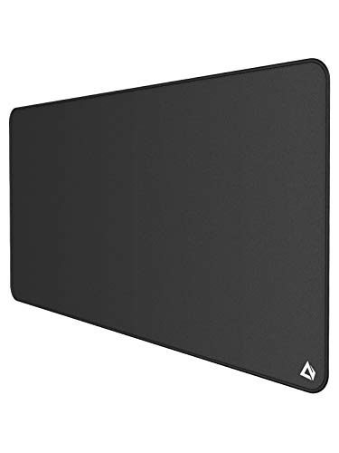 "AUKEY Gaming Mouse Pad XXXL (47.2"" x 23.6"" x 0.12""), Oversized Extended Mouse Mat, Non-Slip 3XL Mouse Pad, Super-Thick with Special-Textured Surface, Anti-Fray Stitched Edges for Full Desk"