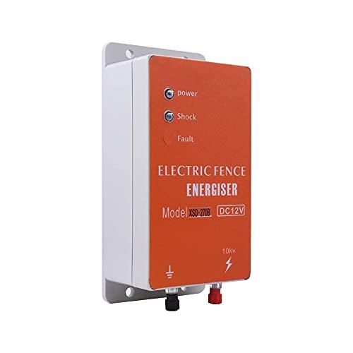 12/110/220 V, controlador de valla eléctrica, intensificador de valla eléctrica solar, apto...
