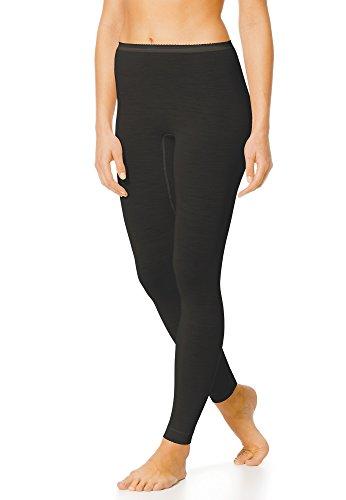 Mey Basics Serie Exquisite Damen Leggings Schwarz XL