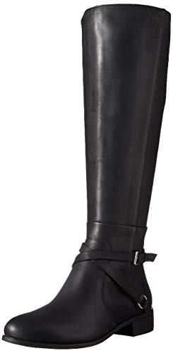 Charles David Women's Solo Knee High Boot, Black, 7 M US