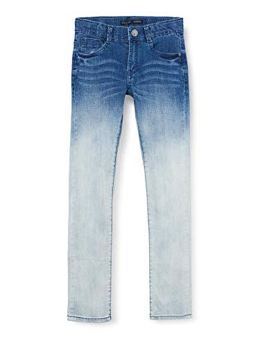 IKKS Jongens Jeans Jean Denim Skinny Medium Blue