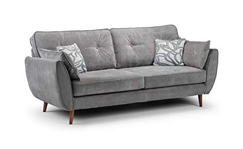 Honeypot - Sofa - Zinc - 3 Seater - 2 Seater - Grey (3 Seater)