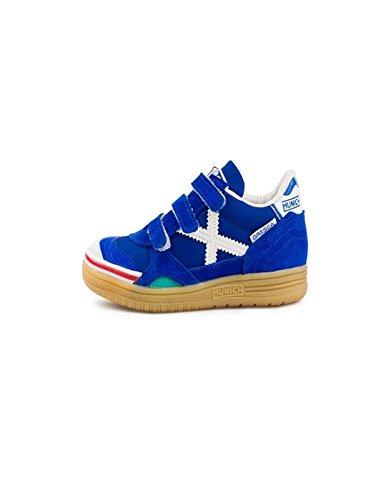 Munich Gresca Kid Vco, Zapatillas de Deporte Unisex Niños, Azul (Azul Royal 03), 32 EU