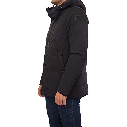 Dekker Schwarze Jacke für Herren XL
