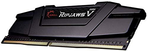G.Skill RipJaws V Series DDR4-3200 CL16 - Memoria RAM de 32 GB, Color Negro
