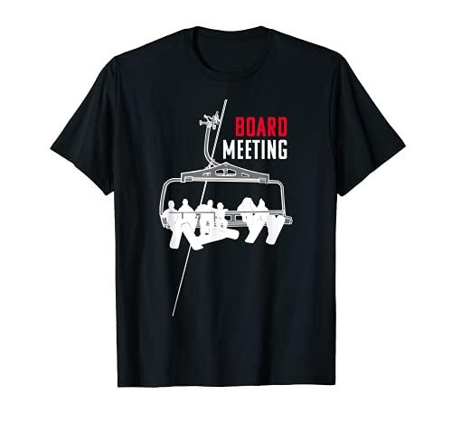 Board Meeting - Traje de snowboard, regalo Camiseta