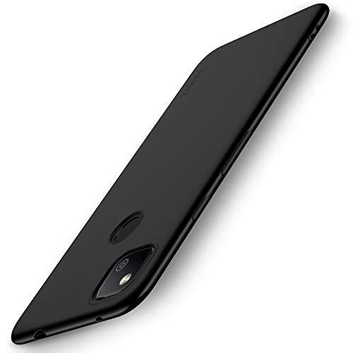 X-level Google Pixel 4a Hülle, [Guardian Serie] Soft Flex TPU Hülle Superdünn Handyhülle Silikon Bumper Cover Schutz Tasche Schale Schutzhülle für Google Pixel 4a - Schwarz