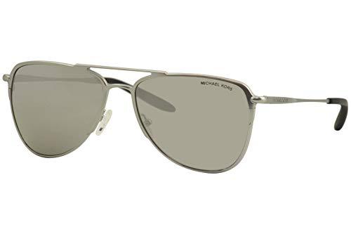 Michael Kors MK 1049 11536G - Gafas de sol, color plateado mate