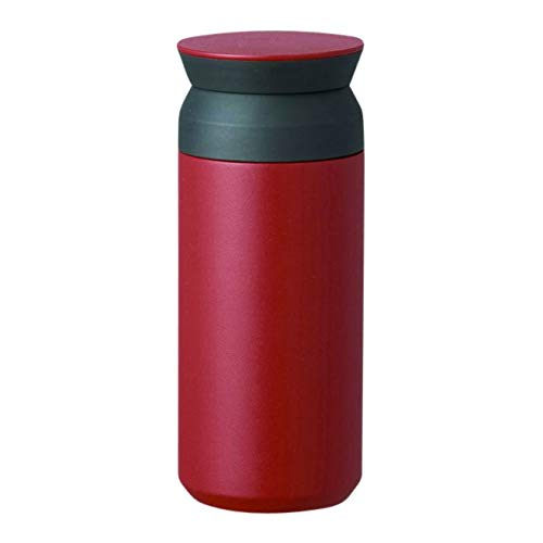 Kinto - Travel Tumbler 350ml Water Bottle Vacuum Insulated Flask Thermal Sport - Red