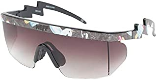 neff Brodie Shades Rimless Sunglasses, POOL PARTY, 6 mm