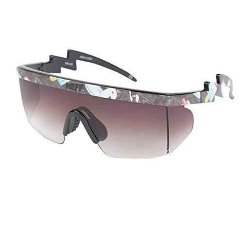 Neff Men's Brodie Shades Sunglasses Pool Party Black