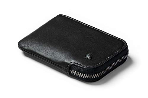 Bellroy Leather Card Pocket Wallet - スリムなファスナー財布(カード最大15枚、紙幣、小銭を収納可能)-...
