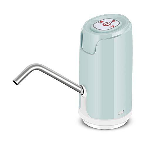 Dispensador de Agua Eléctrico,Dispensador Agua para Garrafas con Adaptador,Dosificador Eléctrico Automático Extraíble Recargable USB Botellas Agua Fria Caliente para Camping Escuela Oficina Hogar