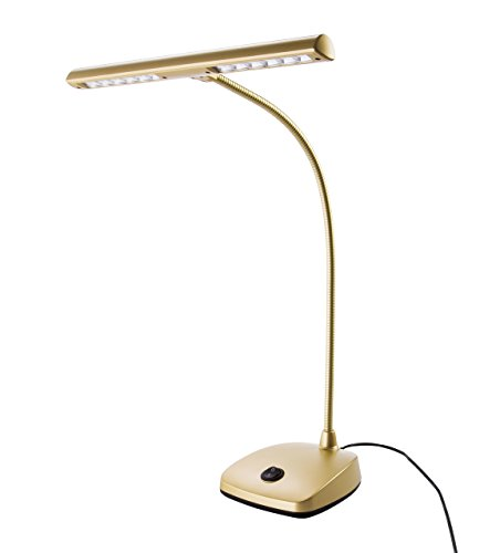 König & Meyer 12297-000-40 LED Pianoleuchte goldfarbig
