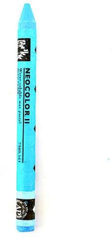 Caran d'Ache Neocolor II Aquarelle Water Soluble Wax Pastels (Light Blue) 4 pcs sku# 1824117MA