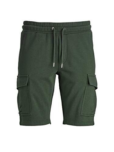 JACK & JONES Herren JJICARGO JJSWEAT Shorts VG Cargos, Olive Night, M