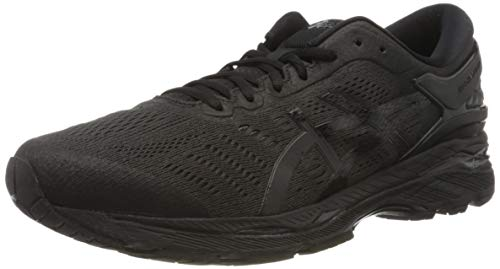 ASICS Mens Gel-Kayano 26 Running Shoe, Schwarz, 44 EU
