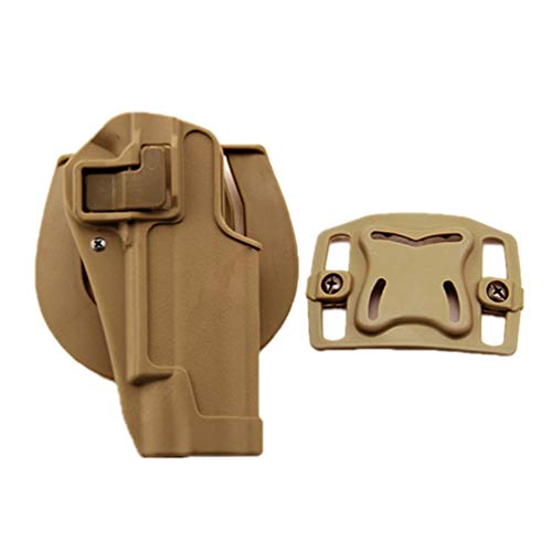 WISEONUS Pistoleras Airsoft Tactical Waist Pouch Funda de Mano Derecha Paddle Holster Belt para Colt 1911
