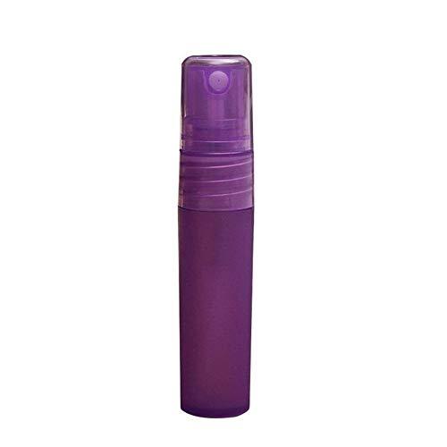 DDSP Atomizador de botellas de spray de plástico para viaje, mini atomizador de botella recargable (color: morado, material: 5 ml)