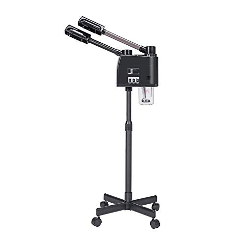 Facial Steamer, Floor-Standing Hot and Cold Spray Machine, Hot and Cold Spray Nano Sprayer, Suitable for Home and Beauty Salon, Adjustable Height