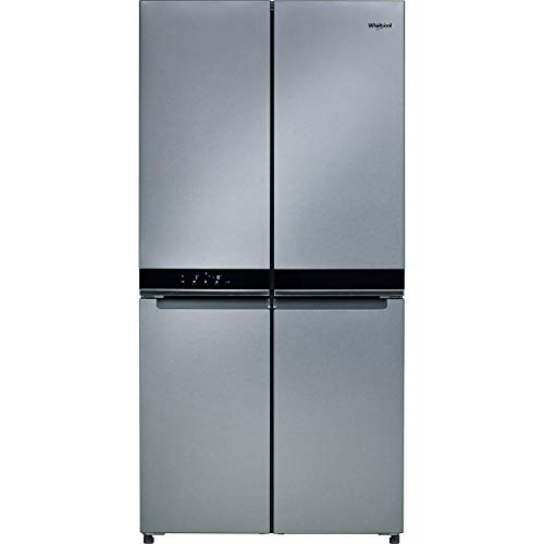 Whirlpool WQ9B1LUK Freestanding Fridge Freezer, Frost Free, 591L total capacity, 90cm wide, Inox