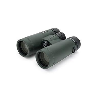 Celestron 71406 TrailSeeker 10x42 Binoculars (Army Green)