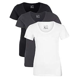 Berydale Women's T-Shirt, Pack of 3