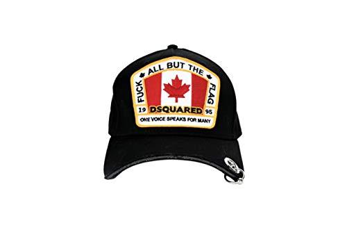 DSQUARED2 BCM0104 Flag Cappello Uomo Men's Baseball cap