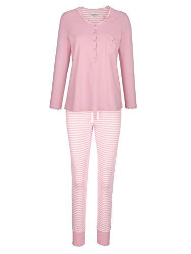 Ringella Schlafanzug mit süßer Brusttasche rosé/ecru